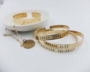Brass Stamping Jewelry